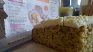 Pistachio & cardamom cake