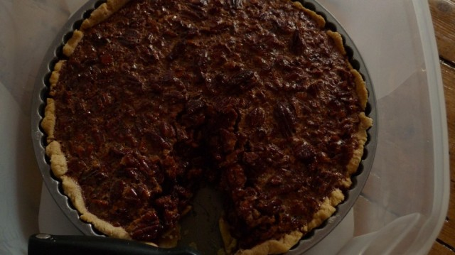 Paul Hollywood's pecan pie