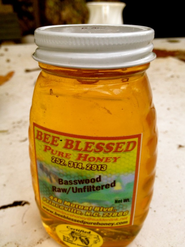 Bee Blessed honey