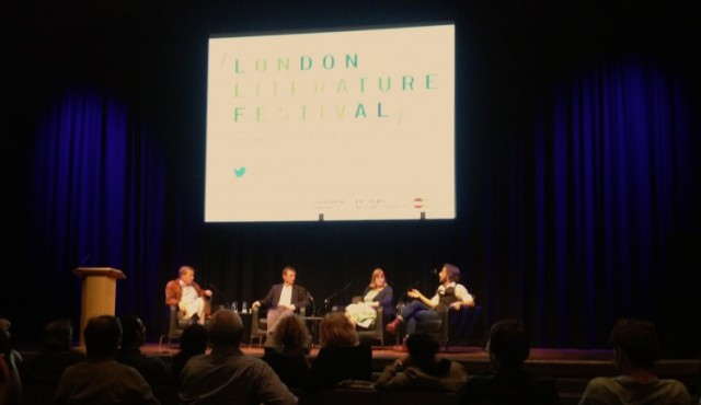 London Literature festival talk