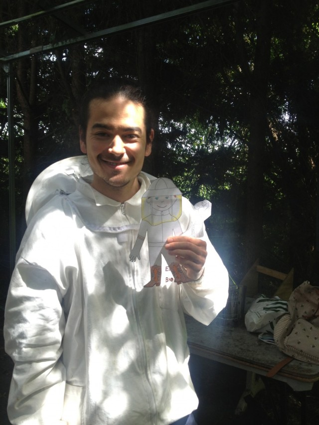 Mark and Flat Stanley