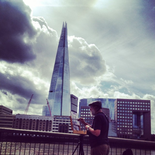 Painter by the Shard