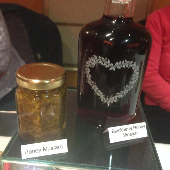 Honey mustard & Blackberry Honey Vinegar by Judy Earl