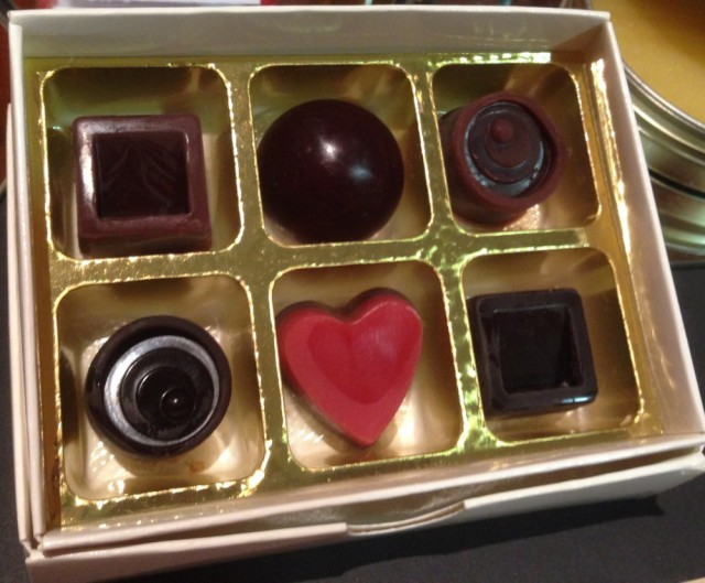 Wax chocolates by Judy Earl