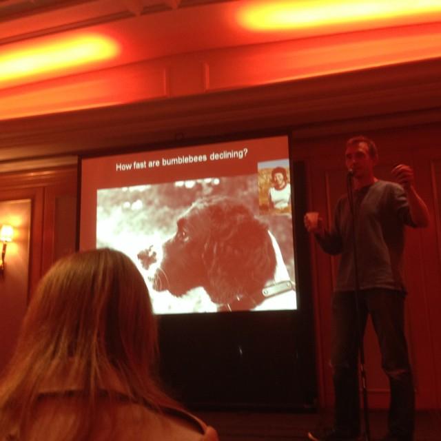 Dave Goulson speaking