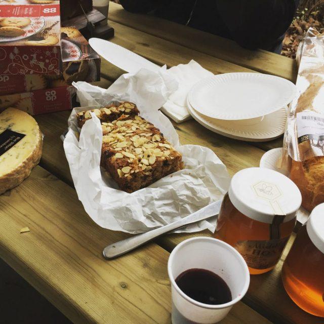 Festive Christmas feast