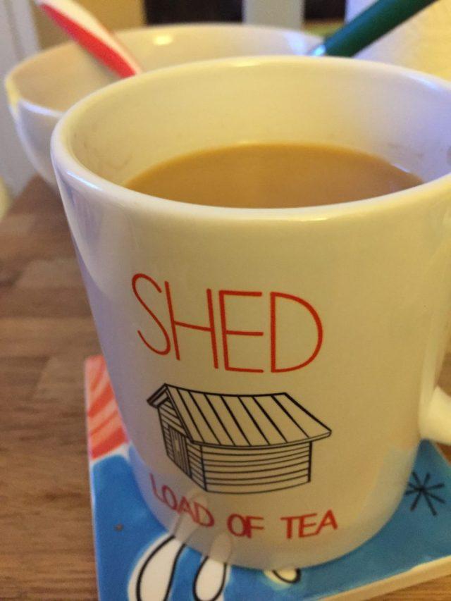 Waltons shed mug