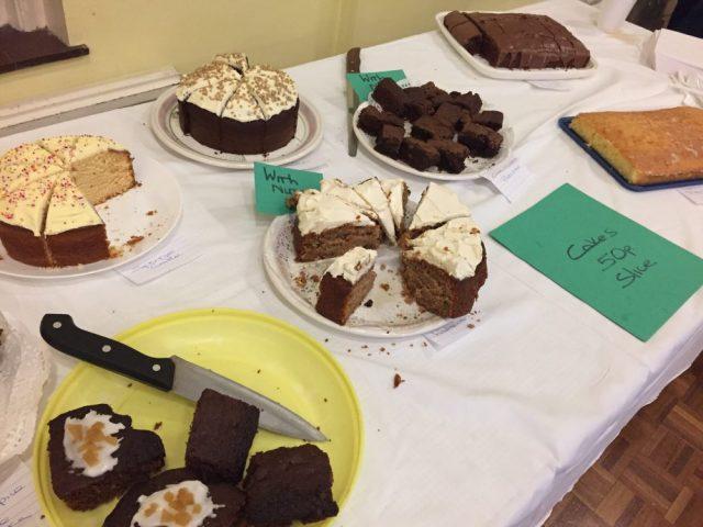 Federation cake table