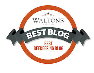 Waltons best beekeeping blog award