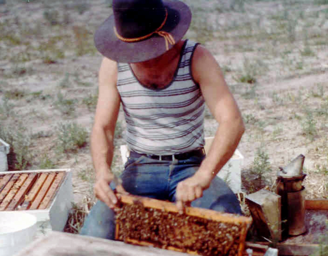 Ron Miksha making nucs