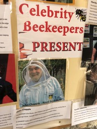 Celebrity beekeeper John Chapple