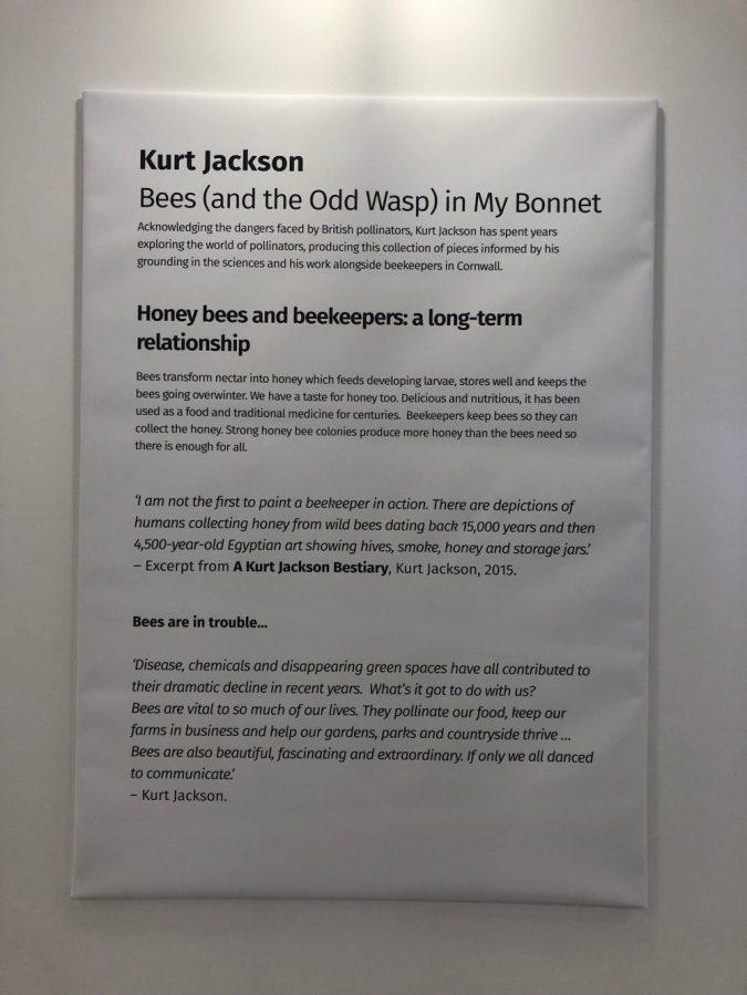 Kurt Jackson Bees in my Bonnet info