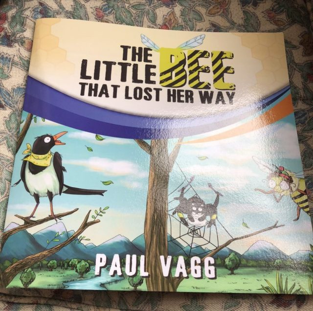 The little bee that lost her way, by Paul Vagg