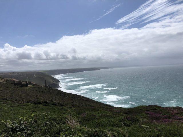 Chapel Porth cliff top